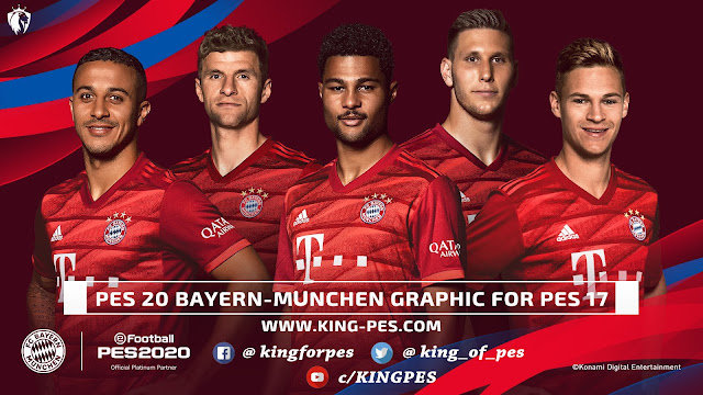 PES 20 Bayern-München Graphic For PES 17 By Last Fiddler - FIX Link