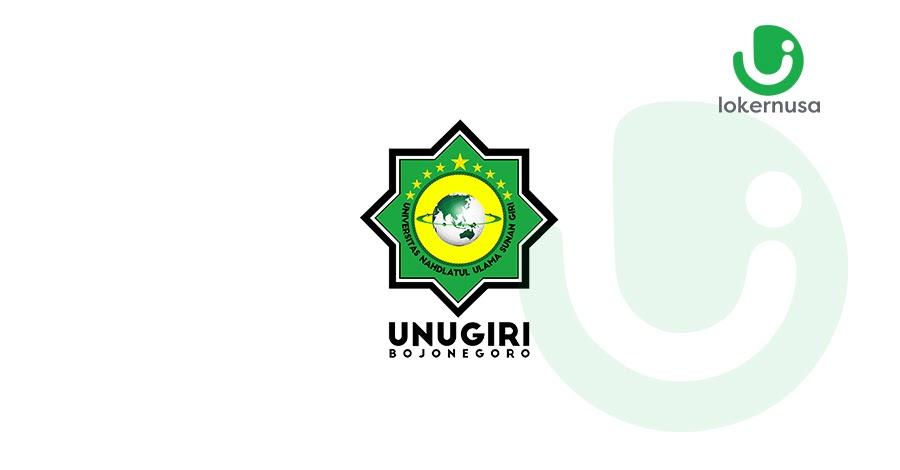 Lowongan kerja terbaru kali ini berasal dari Universitas Nahdlatul Ulama Sunan Giri.