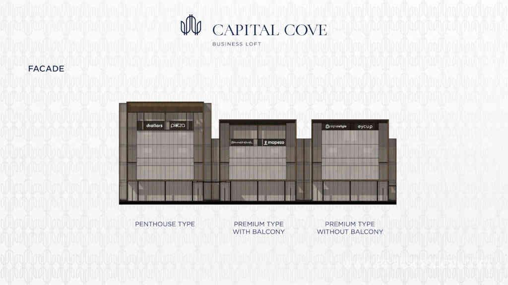 Tipe Unit Capital Cove BSD