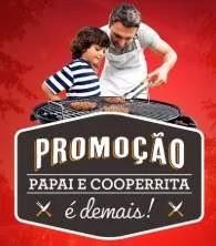 Promoção CooperRita Dia dos Pais 2019 Concorra Kit Produtos + Churrasqueira