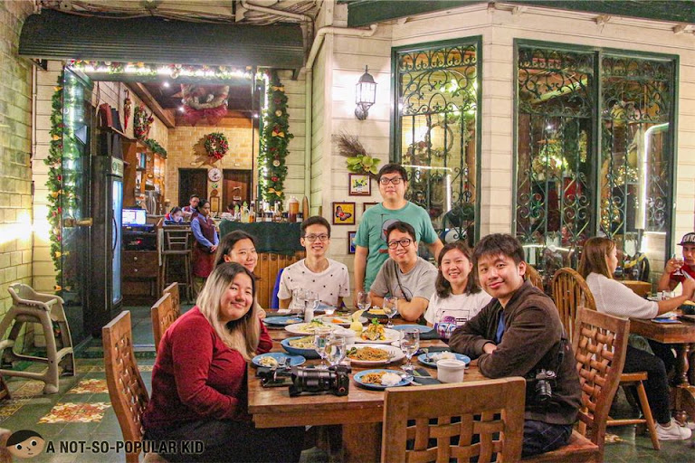 Renz Cheng with his HS Barkada in Forest House, Baguio