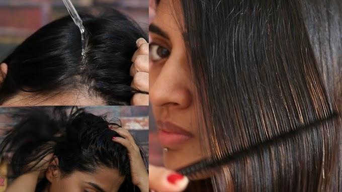 3 Step Hair Care Using Onion Hair Care Range
