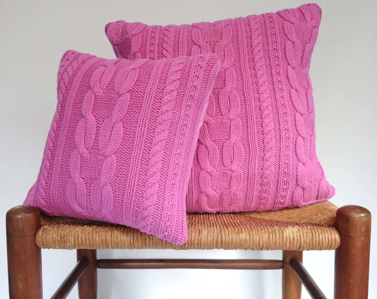 Days at Buttermilk Cottage: More Sweater Pillows!