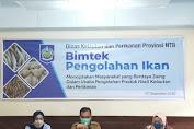 Dislutkan NTB Bersama BBP3HP Gelar Bimtek Pengolahan Ikan