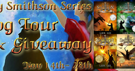 THE ANDY SMITHSON SERIES by L. R. W. Lee - Blog Tour & Giveaway #Fantasy #Supernatural #Series #Giveaway