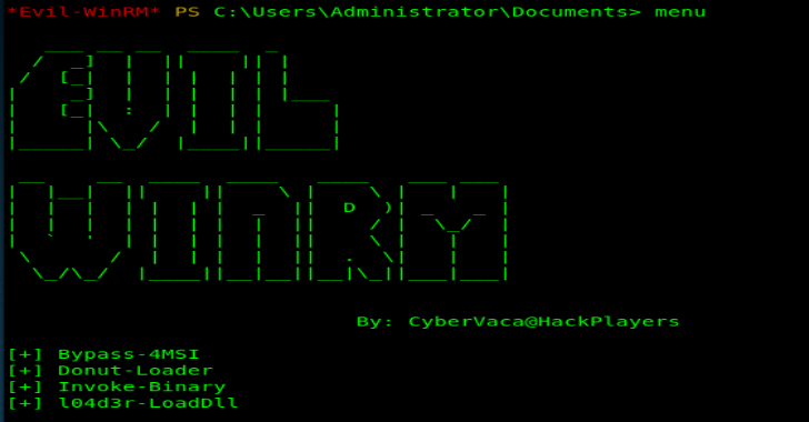 Evil-Winrm : The Ultimate WinRM Shell For Hacking/Pentesting