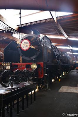 Locomotiva del Museo Ferroviario di Mulhouse