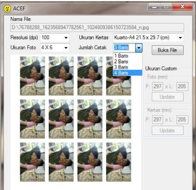 Rekomendasi Aplikasi cetak pas photo 2x3 3x3 3x4 4x6