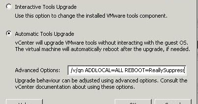 vmwarealert com: Upgrade VMware tools without rebooting the Guest OS