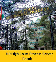 HP High Court Process Server Result