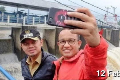 Foto Lama dengan Anies di Katulampa Dijadikan Hoax, Bima Arya: Menyedihkan