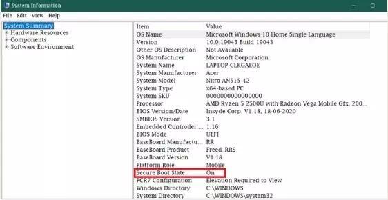 Cara Mengaktifkan Secure Boot Windows 10-2