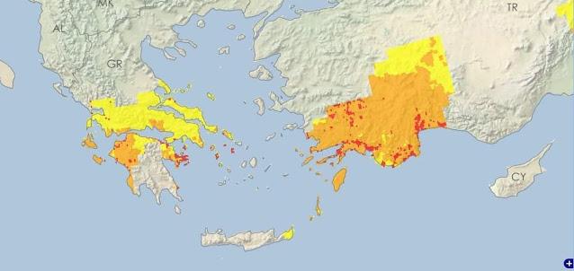 Μεγάλη ξηρασία πλήττει την Αργολίδα και περιοχές της Πελοποννήσου