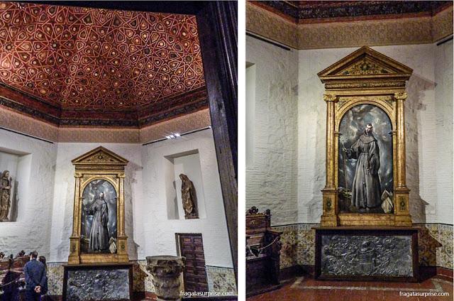 Altar de San Bernardino, Museu Casa de El Greco em Toledo, Espanha