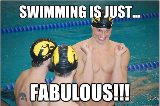 Funny Swimming Caption Caption Photo