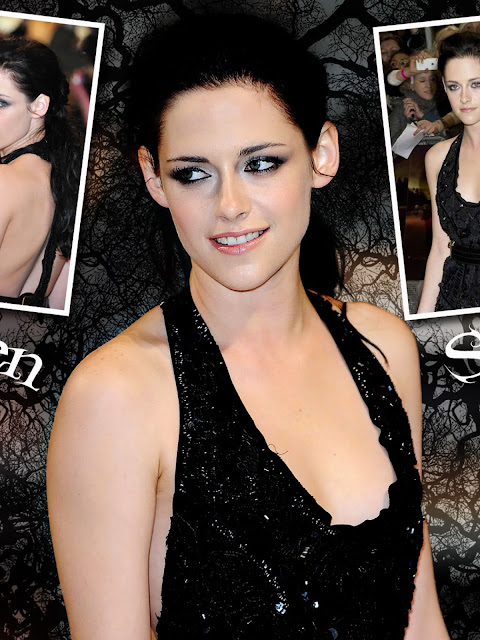 Actress Kristen Stewart Cleavage and Navel Actress Trend