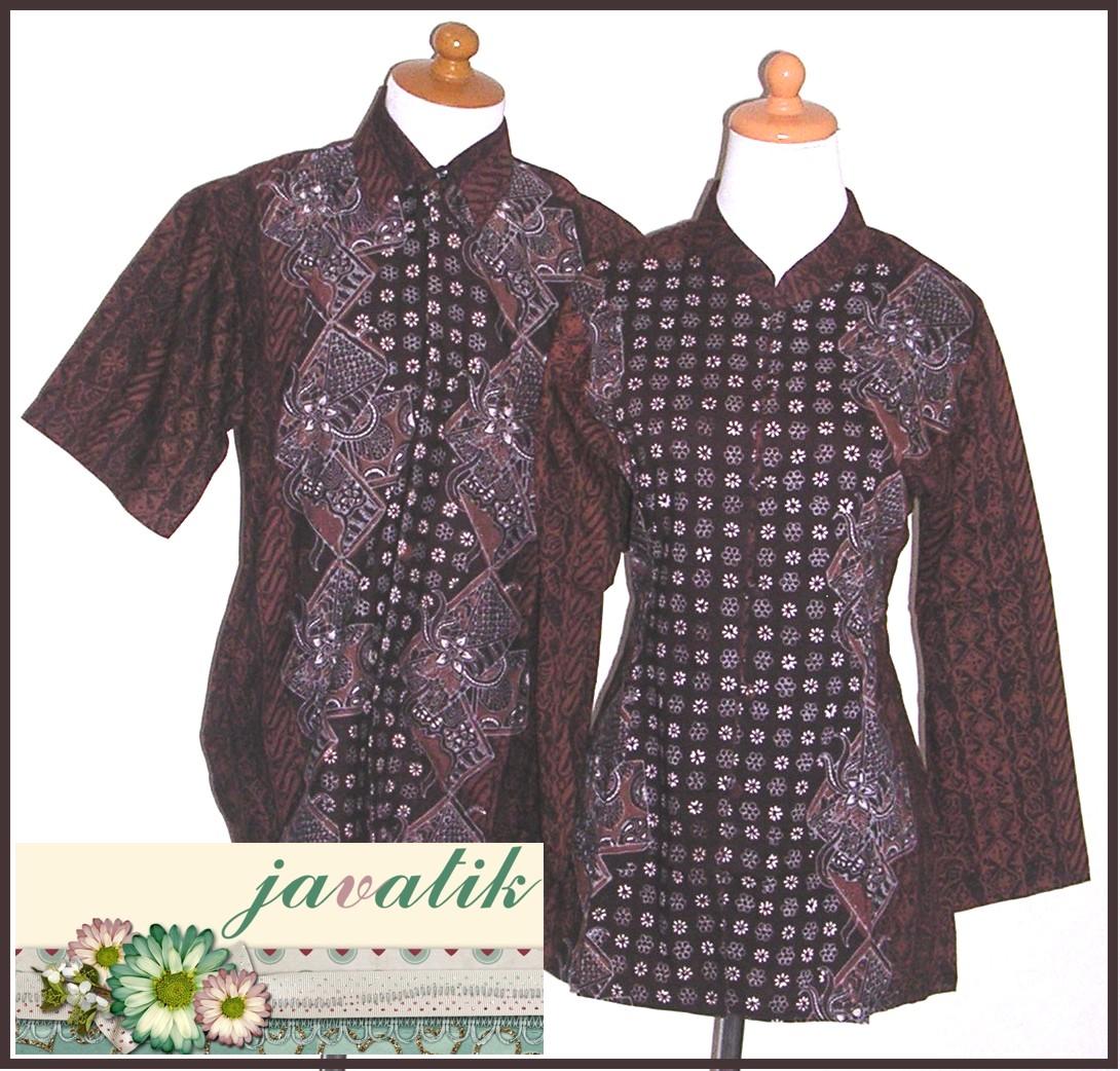 Batik Kerja Sarimbit: Busana Wanita: Baju Batik Sarimbit