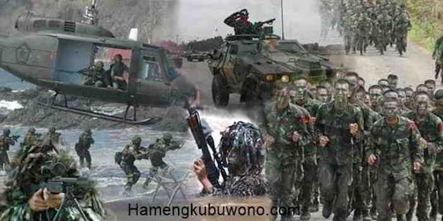 kekuatan militer Indonesia dimata dunia Internasional