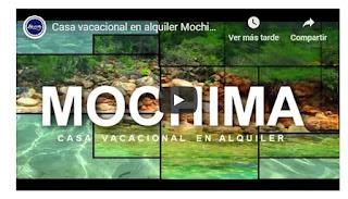 imagen Video de casa vacacional  en el pueblo de mochima