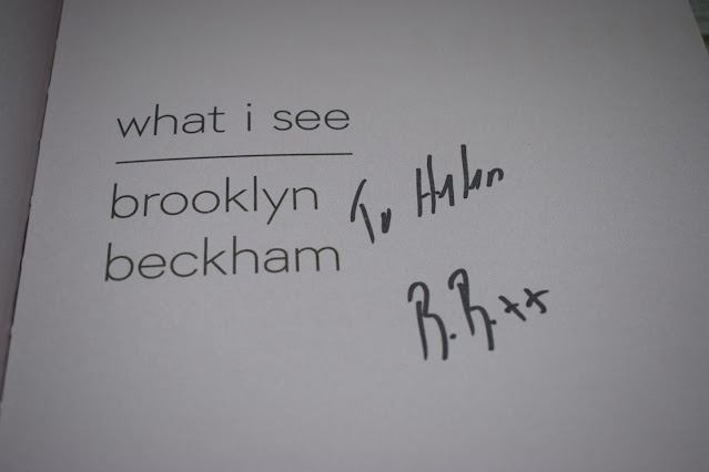 Brooklyn Beckham What I See book signing
