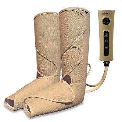 Lifelong Full Leg Air Compression Massager Machine | Best Air Compression Leg Massagers in India | Air Compression Massager Machine