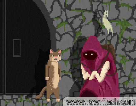 Um jogo curto e profundo sobre um gato que anda sobre duas patas começa a questionar sua existência. Ele está em um mundo pós apocalíptico e busca por respostas.