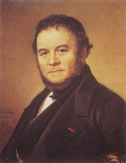 Stendhal, retrato de Johan Olaf Sodemark (1840)