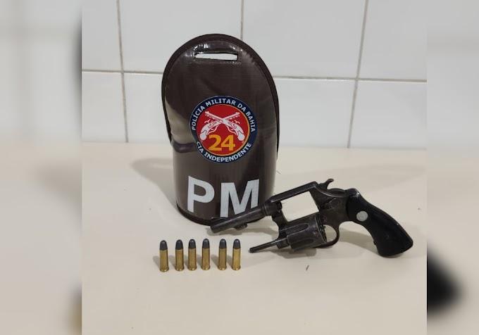 24ª CIPM apreende arma de fogo em Várzea Nova