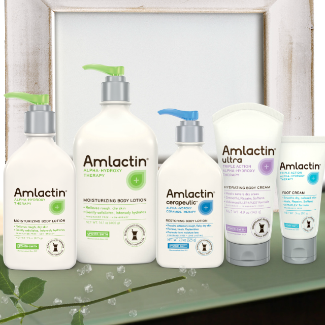 AmLactin Skin Care's potent alpha-hydroxy therapy by Barbies beauty bits