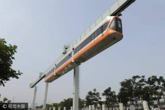 Skytrain Begins Trial Runs In Cities Of China