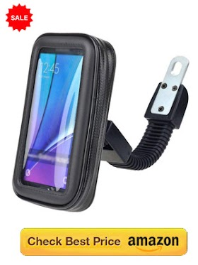 Best Mobile holder for motorcycle & Scooters | Waterproof