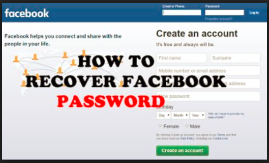 How can i recover my facebook password without email