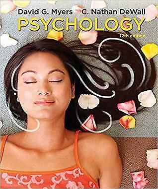 Psychology 12th Edition by David G. Myers C. Nathan DeWall (E- version)