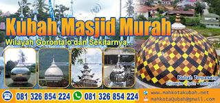 Jual Kubah Masjid Gorontalo