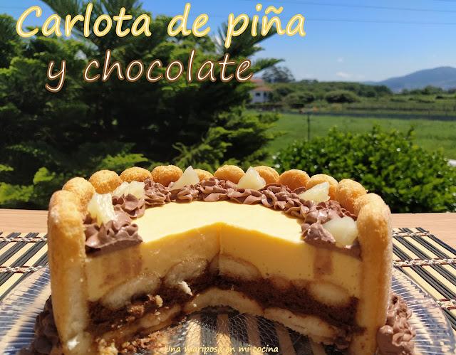 Carlota De Chocolate Y Piña