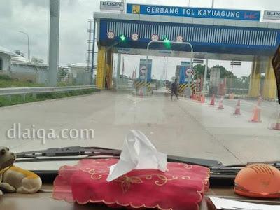Gerbang Tol Kayu Agung