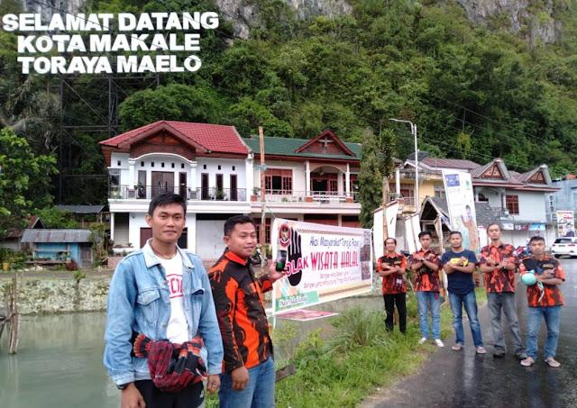 Spanduk Tolak Wisata Halal Terpasang Dibeberapa Titik di Toraja