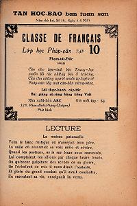 Lớp Học Pháp Văn Tập 10 - Phạm Tất Đắc