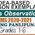 Sample Lesson Exemplars in Araling Panlipunan  Grades 1-6  Q2