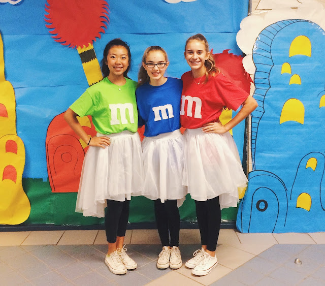 DIY M&M Halloween Costume // Live The Prep Life
