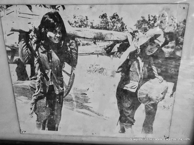 Fotografias dos trabalhos forçados