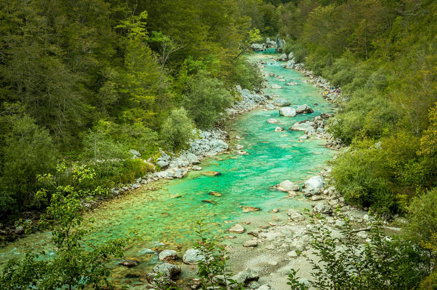 Rzeka Socza Słowenia