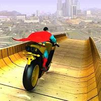 Super Hero Bike Mega Ramp Apk free Game for Android