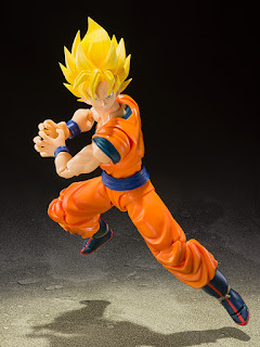 S.H.Figuarts  Super Saiyan Full Power Son Goku de Dragon Ball Z - Tamashii Nations