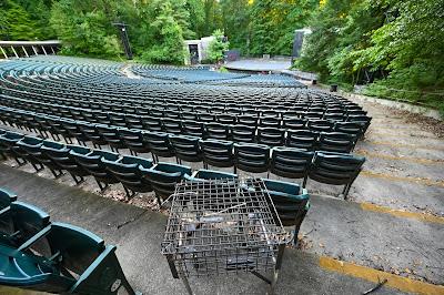 Carter Barron Amphitheater, Rock Creek Park, Washington DC - construction news