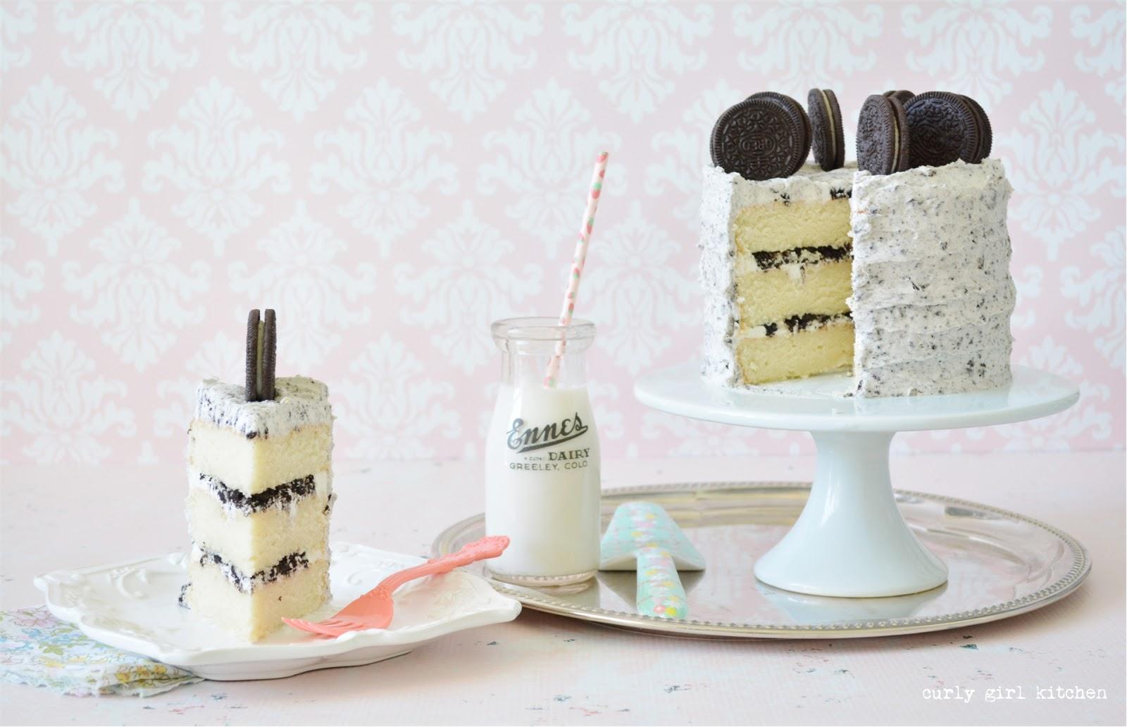 Cookies And Cream Cake Birthday White Velvet Oreo