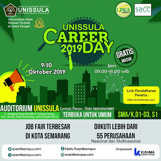Job Fair UNISSULA Jawa Tengah
