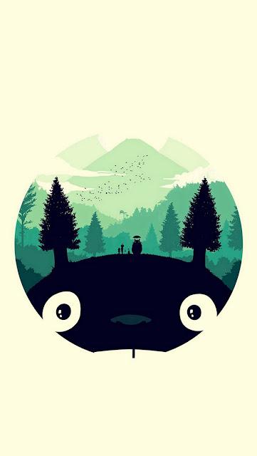 Papel de Parede para Celular, Papel de Parede Totoro para Celular, Imagem Full hd