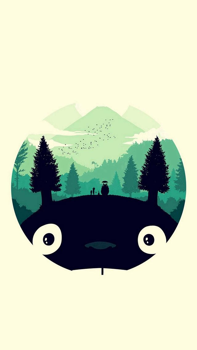 Papel de Parede Totoro para Celular