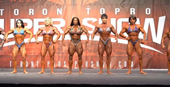 2019 IFBB Toronto Pro Bodybuilding Championships, Female Bodybuilding Posedown